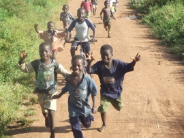 Kids of Tijo! No doubt that they love the fellows company over the past few days!