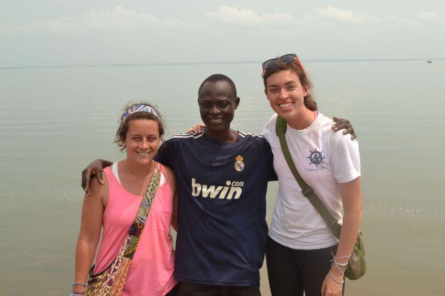Brigid, Eric & Caroline!