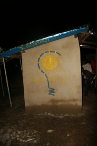Sprucing up the Solar Center with the InnovaSun Logo!