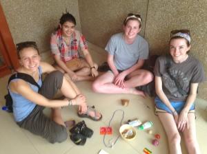 Anna, Bimala, Jenna, and Rachael