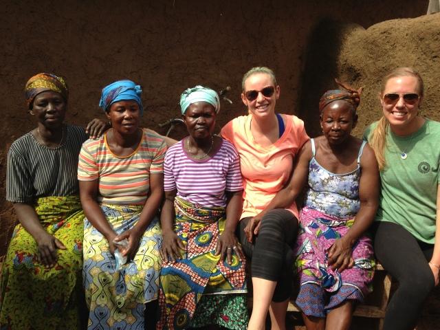 Saramatu, Lydia, Damu, Sam, Fuseina, and me