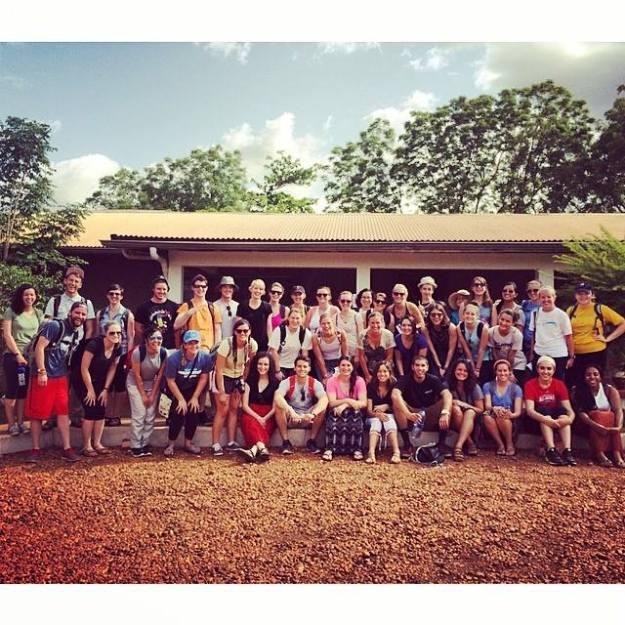 The 2014 Summer Fellows at GiLLBT Guest House!