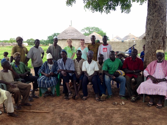Some of the Elders and men of the village