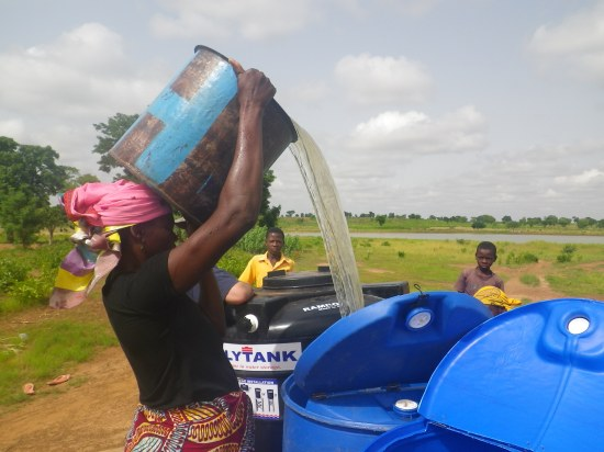 Senatu and Abiba have been doing an awesome job running their water business!