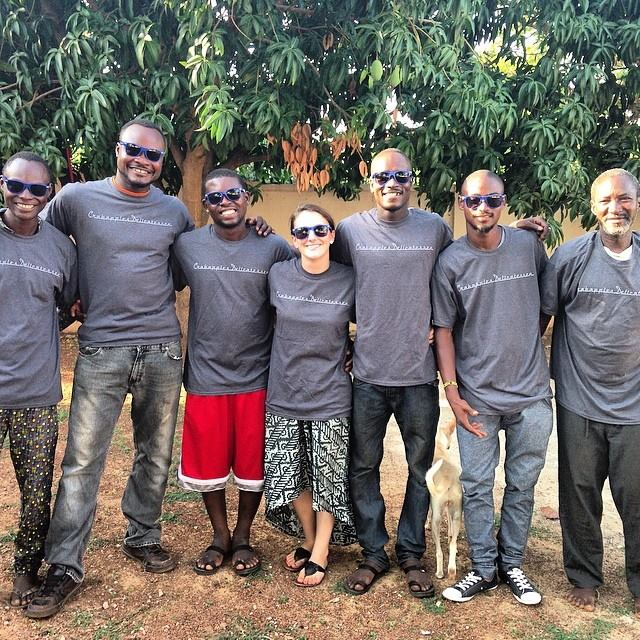 CWS Ghana staffers!